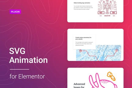 Animación SVG para Elementor