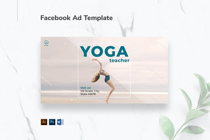Thumbnail for Yoga Instructor Facebook Ad