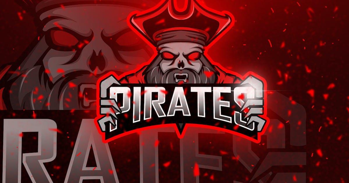 Download Pirates Red - Mascot & Esport Logo by aqrstudio