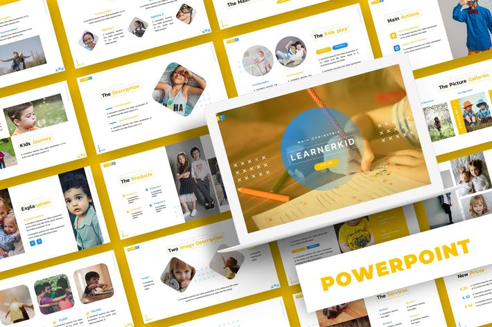 Thumbnail for Learnerkid - Powerpoint Template