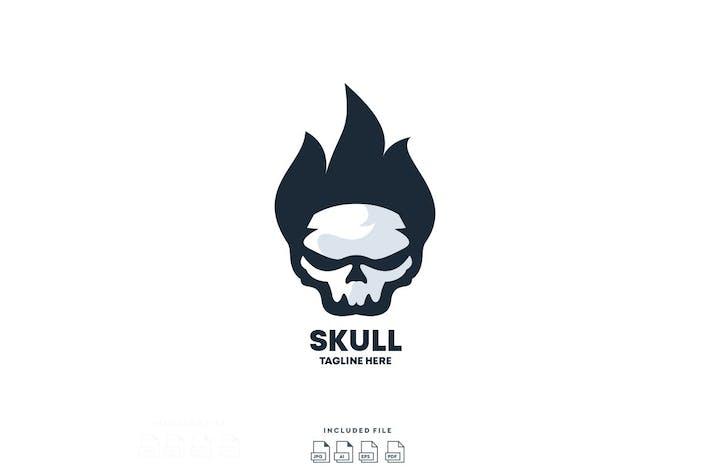 Thumbnail for Vecteur de conception Logo du crâne