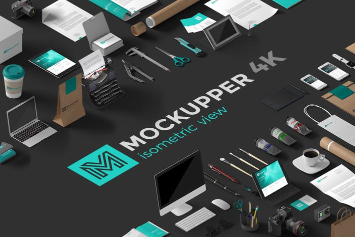 Thumbnail for Mockupper Isometric