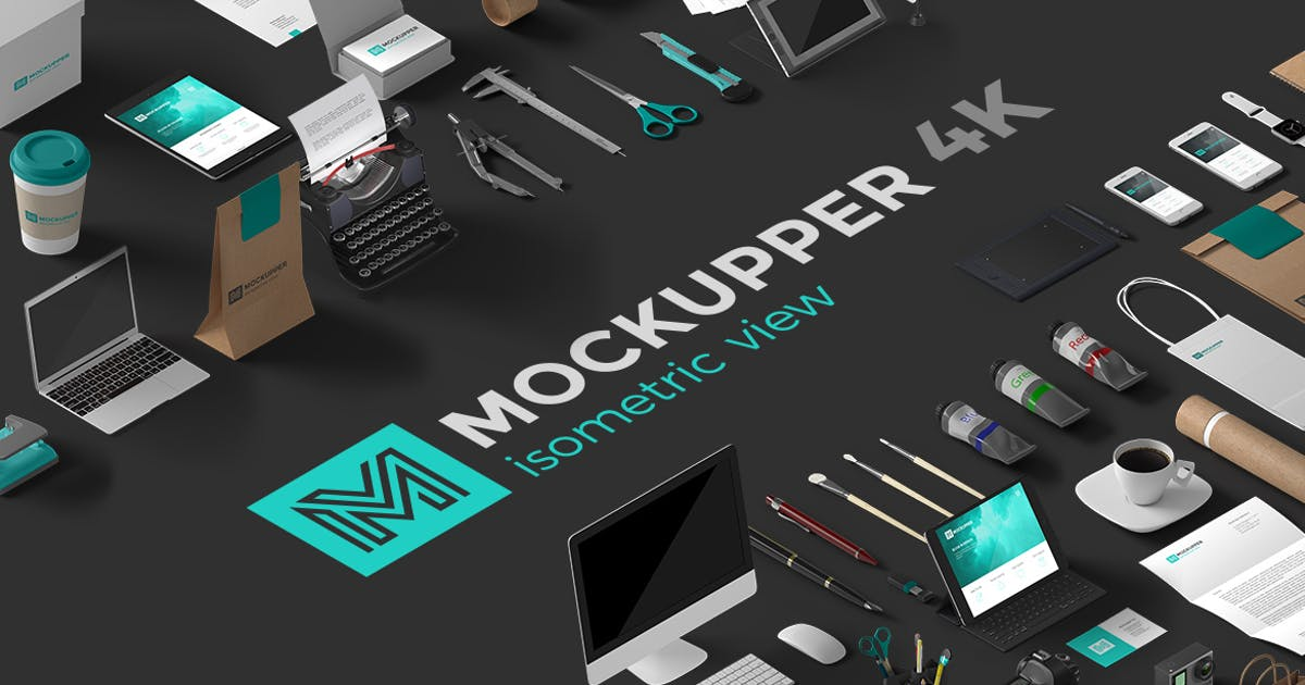Download Mockupper Isometric by Sentavio