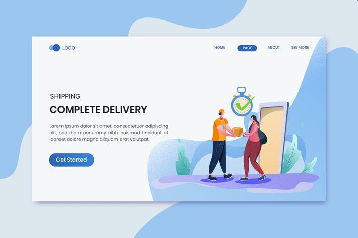 Thumbnail for Delivery Services - Header Landing Page