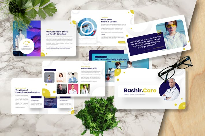 Bashir - Medical Care Powerpoint Template