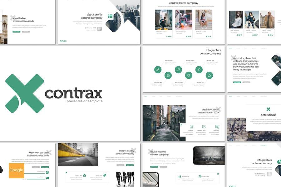 Contrax - Google Slides Template