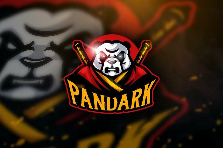 Thumbnail for Pandark - Mascot & Esport Logo