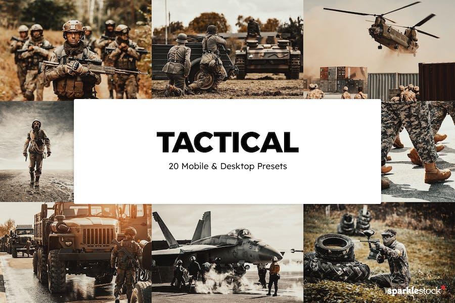 20 Tactical Lightroom Presets & LUTs