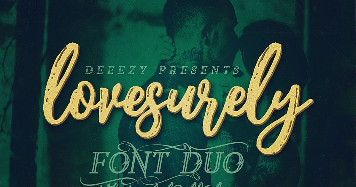 Download Lovesurely Font Duo by cruzine