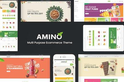 Amino - Thème OpenCart Bio & Polyvalent