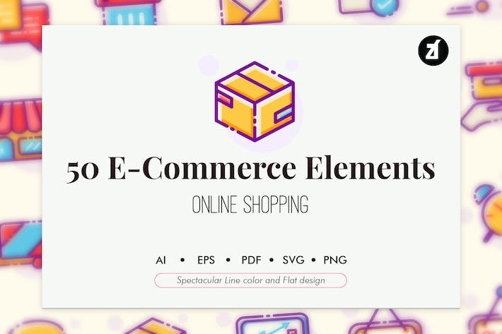 Thumbnail for 50 E-Commerce elements