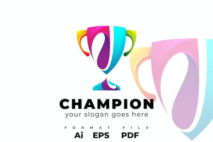 Thumbnail for Champion Logo Template