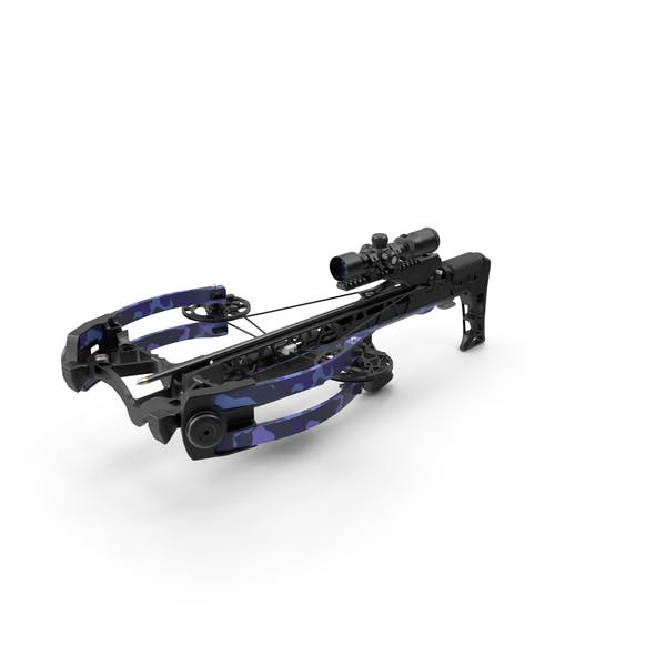 Crossbow Camo Generic with Arrow and Scope