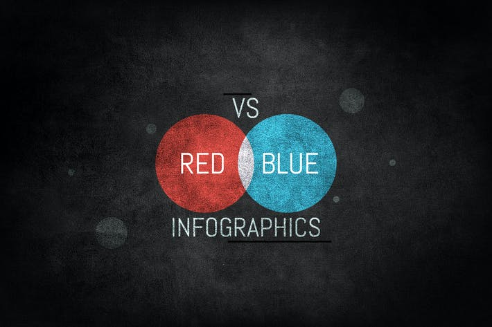Thumbnail for Red vs Blue Infografiken