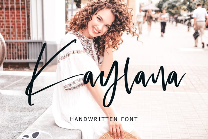 Thumbnail for Kaylana Handwritten Font
