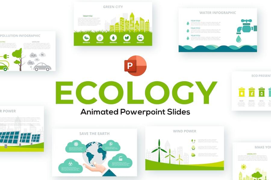 Animated Ecology PowerPoint Presentation