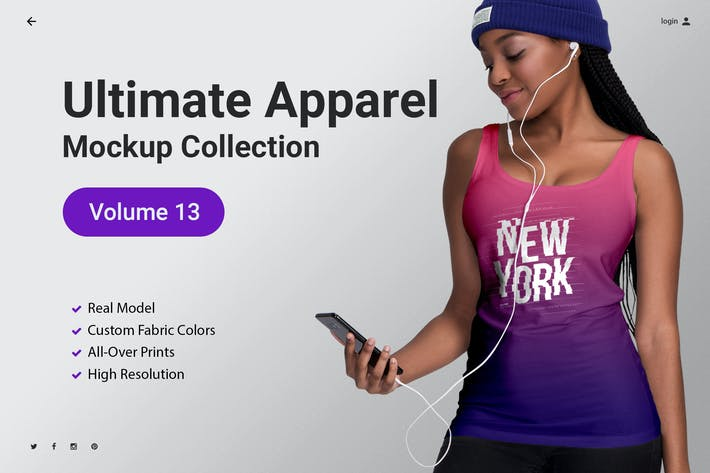 Thumbnail for Ultimate Apparel Mockup Vol. 13