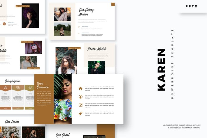 Cover Image For Karen - Powerpoint Template