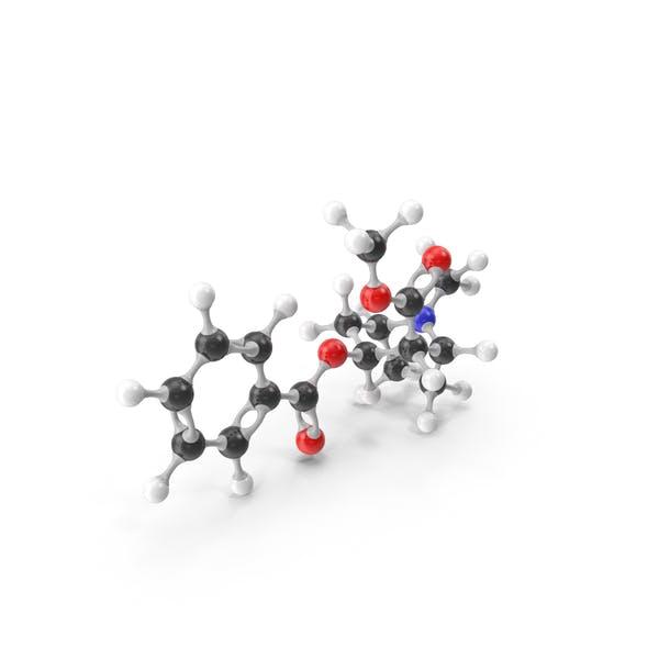 Молекулярная модель кокаина
