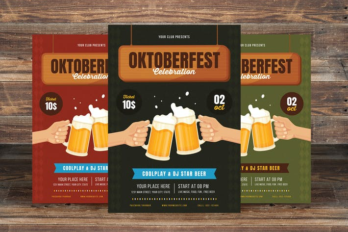Thumbnail for Oktoberfest Celebration Flyer