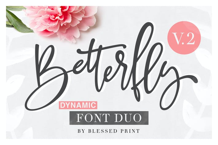Cover Image For BetterFly 2 - Dynamic Font Duo