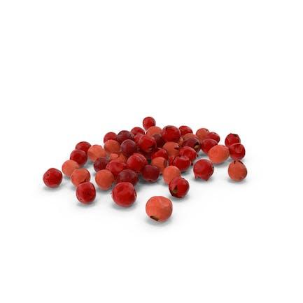 Rote Pfefferkörner
