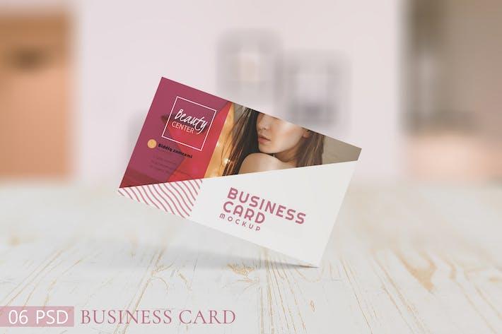 "3.5x2"" Business Card Mockups"