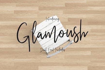 Glamoush Tipo de letra