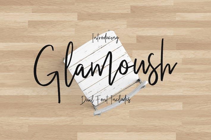 Thumbnail for Glamoush Typeface
