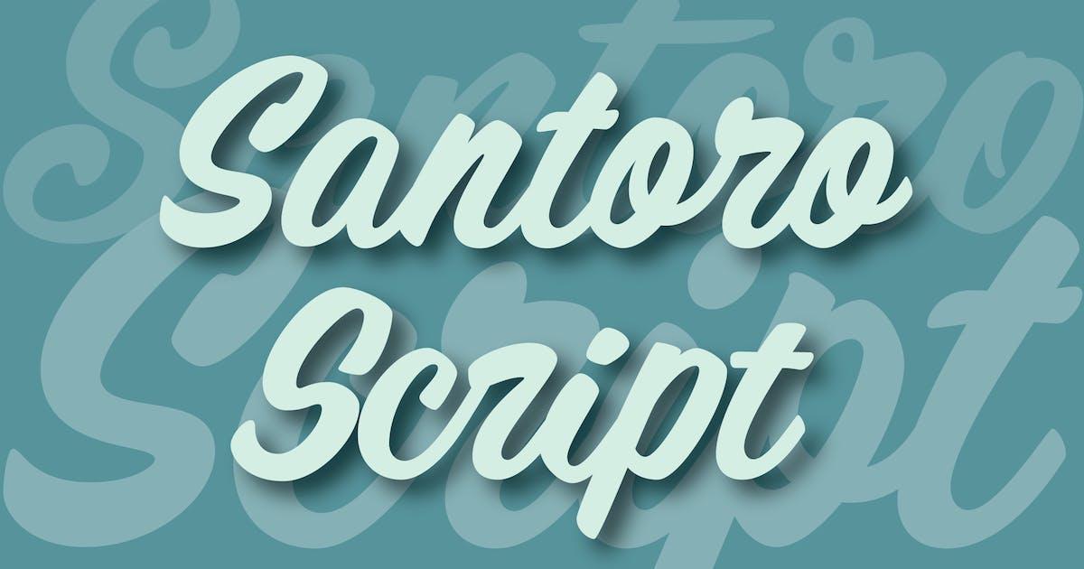 Download Santoro Script by WalcottFonts