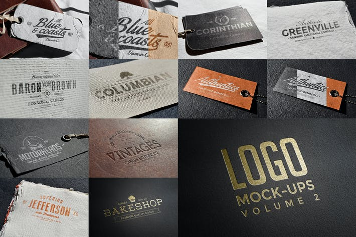 Thumbnail for Logo Mock-ups Vol.2