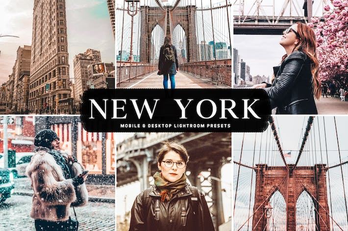 Thumbnail for New York Mobile & Desktop Lightroom Presets