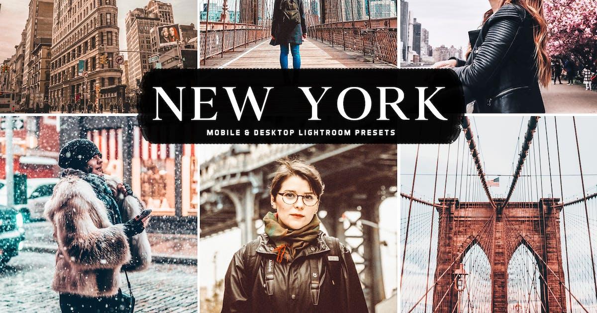 Download New York Mobile & Desktop Lightroom Presets by creativetacos