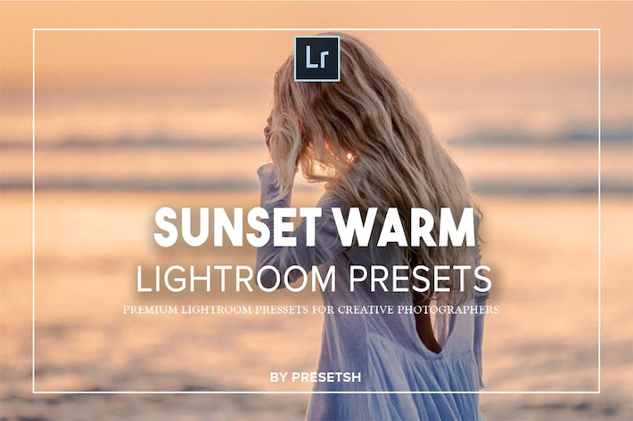 Thumbnail for Sunset Warm Lightroom Presets