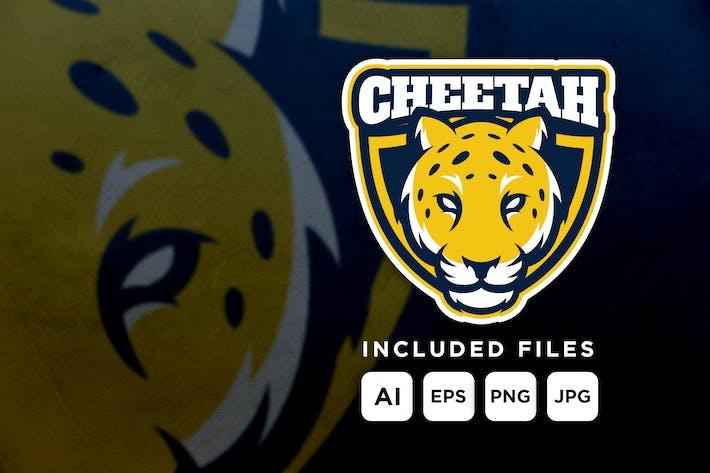 Cheetah - mascot logo for a team