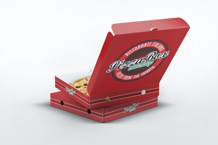 Cover Image For Pizza Box Mock-Up
