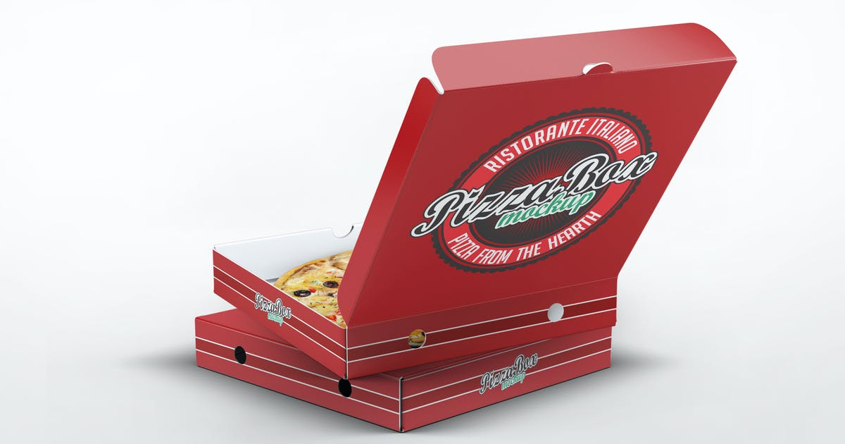 Download Pizza Box Mock-Up by L5Design