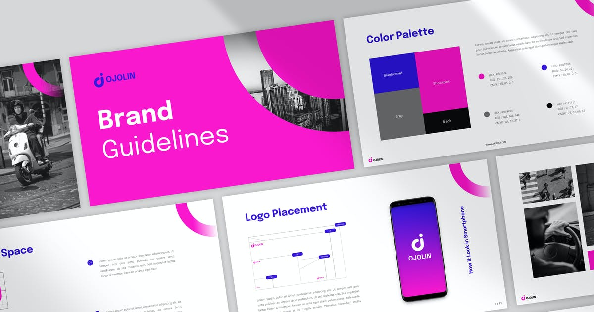 Download Ojolin Powerpoint by visuelcolonie