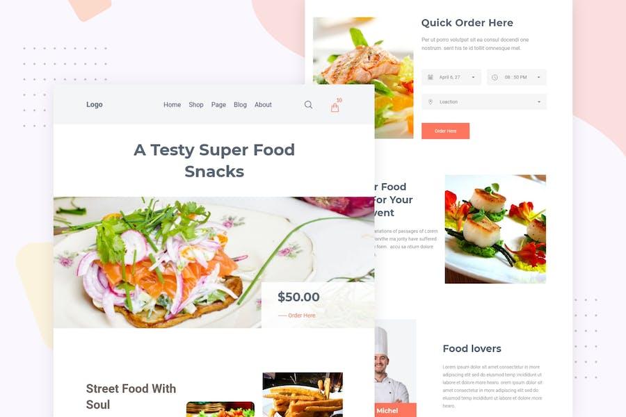 Food Festival - Email Newsletter