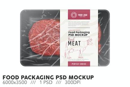 Food Packaging PSD Mockup