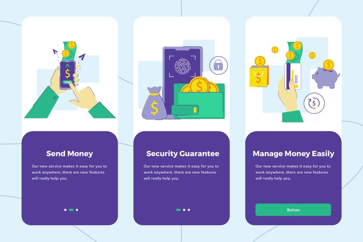 Thumbnail for Payment Sevice Onboarding Illustration 1