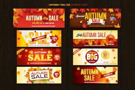 Autumn / Fall Sale Facebook Cover