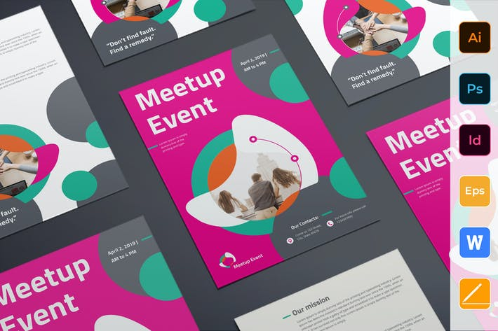 Thumbnail for Meetup Event Flyer
