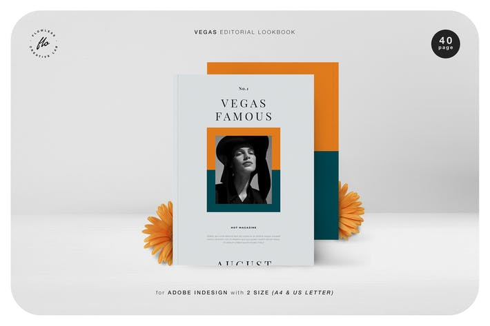 Thumbnail for Vegas Editorial Lookbook