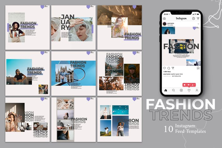 Thumbnail for Fashion - Instagram Post Template