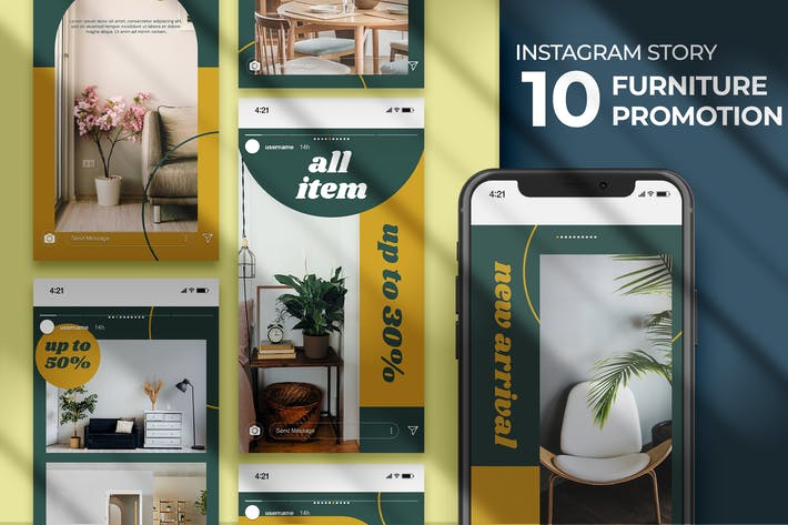 Instagram Story - Furniture Promotion