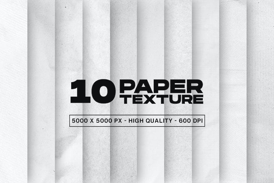 10 Texturen auf Papier