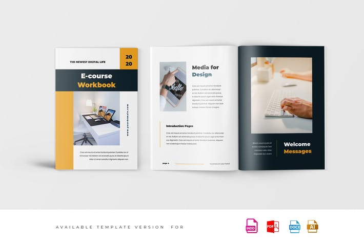 Thumbnail for eCourse Workbook Template