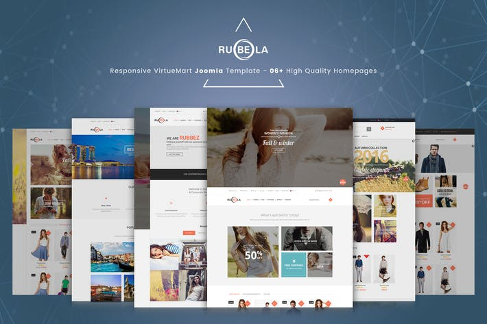 Thumbnail for Rubela - Multipurpose VirtueMart Joomla Template