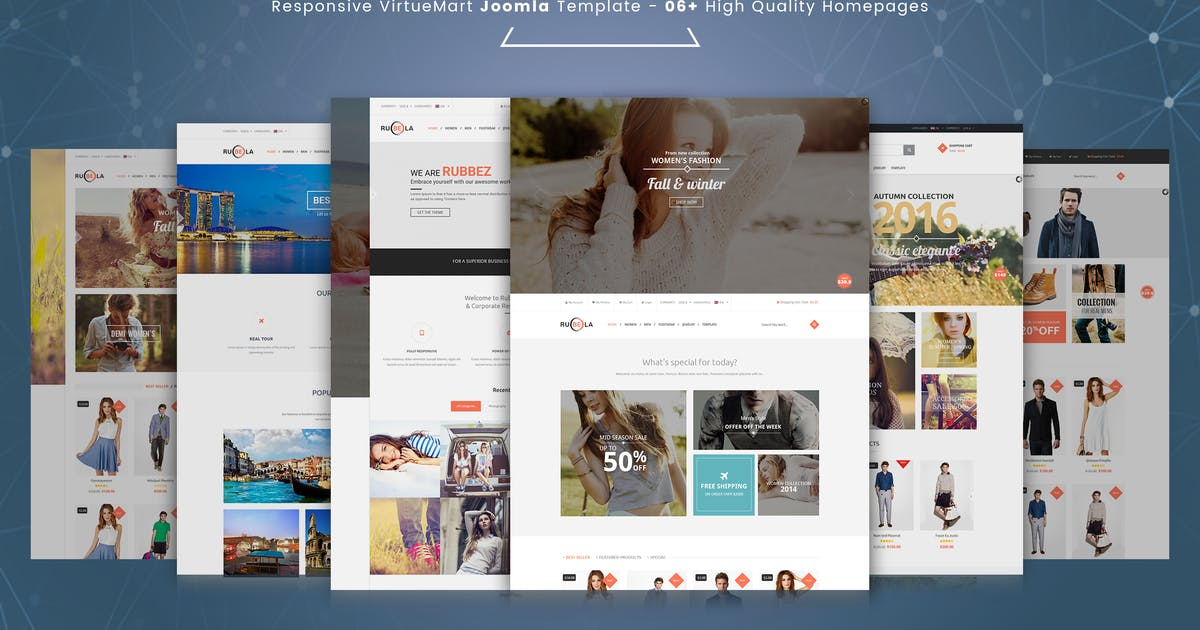 Download Rubela - Multipurpose VirtueMart Joomla Template by vinagecko